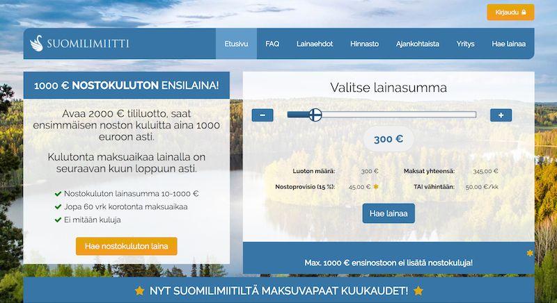 Pikalaina heti tilille - Suomilimiitti tarjoaa ensimmäinen pikavipin ilman korkokuluja