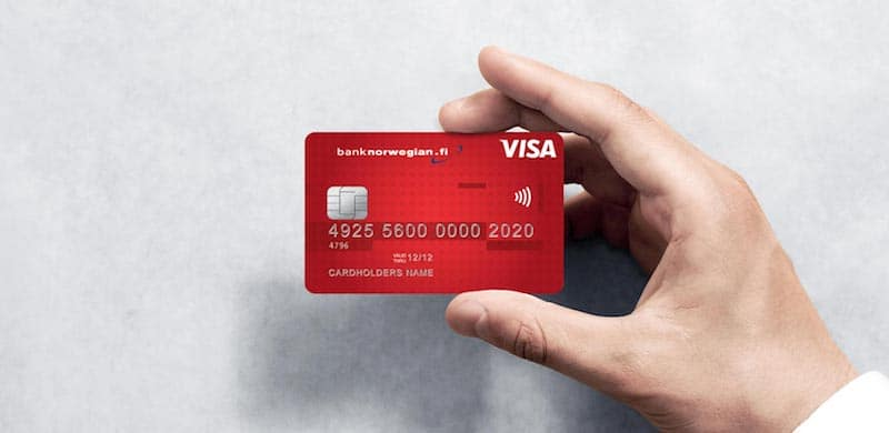 Norwegian luottokortti