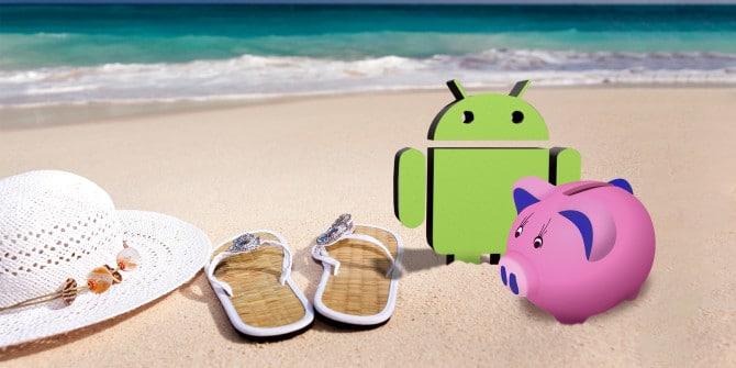Säästä lomalla älypuhelinsovellusten avulla