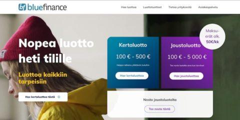 Blue Finance kokemuksia